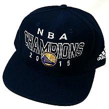 Golden State Warriors ST Adidas 2015 NBA Finals Champions Navy Blue Snapback Hat Cap