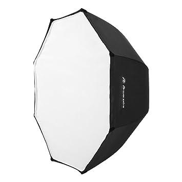 "Powerextra Profesional 32""/80cm Portátil Softbox Octagon Paragua Softbox Reflector Studio Flash Octagonal Speedlite"