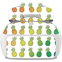 Skin For DJI Goggles – Rainbow Pineapples | MightySkins Protective, Durable, and Unique Vinyl Decal wrap cover | Easy To Apply, Remove, and Change Styles | Made in the USA