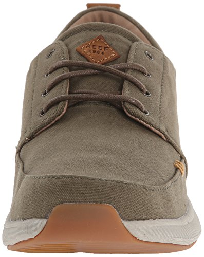 Reef Mens Rover Low Tx Fashion Sneaker Verde Militare
