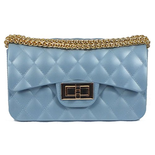 Pale Blue cm femme 17 bandoulière pour Sac 5x6x9 bag is 8CwqBAx