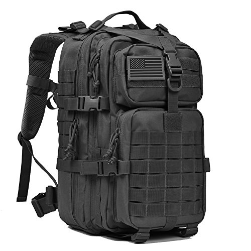 Price comparison product image Military Tactical Backpack,Small Molle Assault Pack Army Bug Out Bag Backpacks Rucksack Black