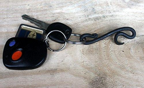 Mini Keychain Bottle Opener Hand Forged Blacksmith