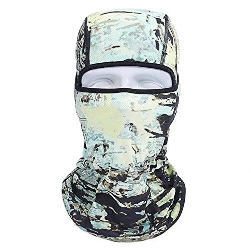 Vrcoco Unisex Outdoor Face Cover Full Face Balaclava Mask Anti-dust Balaclava Windproof Ski Mask Hat(1pc,#7) (Audio Snowboard Hard Hat)