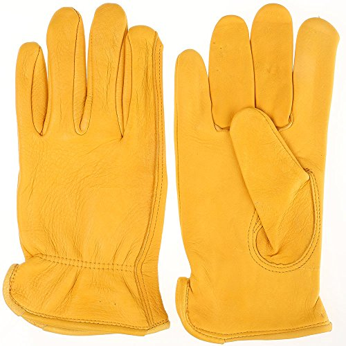 Tuff Mate Gloves Mens Tuff Mate 1500 Deerskin Glove XL Tan (Glove Tuff Mens)