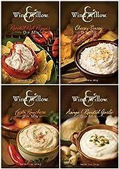 Wind & Willow Dip Mix 4 Flavor Variety B...