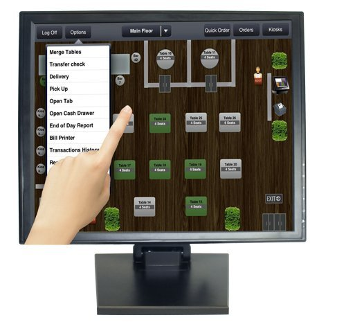 ANGEL POS 1006017 17-Inch POS TFT LCD TouchScreen Monitor
