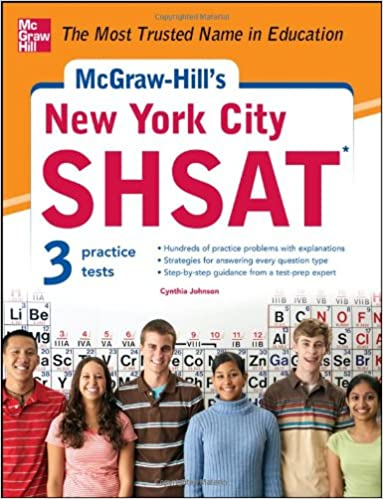 GO Downloads McGraw-Hill's New York City SHSAT by Cynthia Johnson