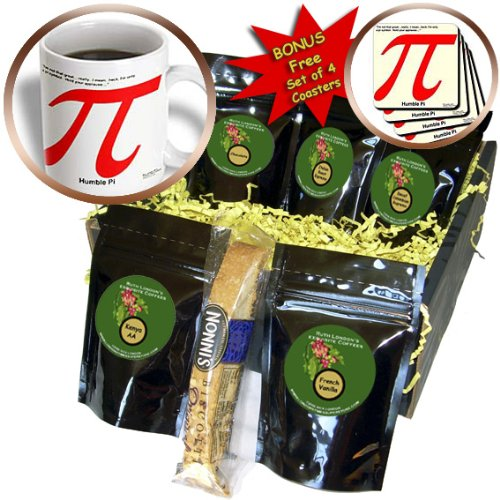 Londons Times Offbeat Cartoons - Science/Math - Pi Are Humble - Coffee Gift Baskets - Coffee Gift Basket (cgb_44977_1)