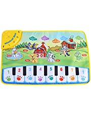 【𝐏𝐚𝐚𝐬-𝐩𝐫𝐨𝐦𝐨𝐭𝐢𝐞𝐦𝐚𝐚𝐧𝐝】 Kids Muzikale Matten, Baby Muziek Piano Toetsenbord Dansvloer Mat Kinderen Kruipen Piano Tapijt Educatief Muzikaal Speelgoed Kids Gift