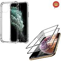 Capa Flexível Anti Impacto iPhone 11 Pro Max + Kit 2x Películas Blindadas 5D Nano Flexível