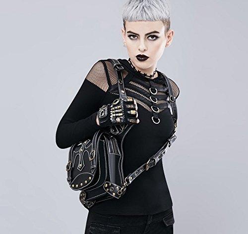 Qiu ping Damen Damen Damen Fashion Europa und Amerika Steampunk Retro Schulter Diagonal Taschen B07G35M7D6 Damenhandtaschen Qualitätsservice 208de7