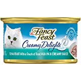 Purina Fancy Feast Creamy Delights Tuna Feast With a Touch of Real Milk in a Creamy Sauce Adult Wet Cat Food