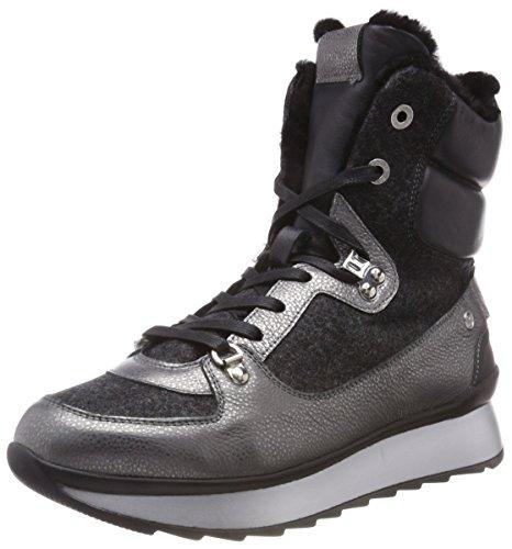 2c Fee Anthracite Bogner a Alto Donna Collo Grigio 79 SAAS Sneaker PSqqxE1w