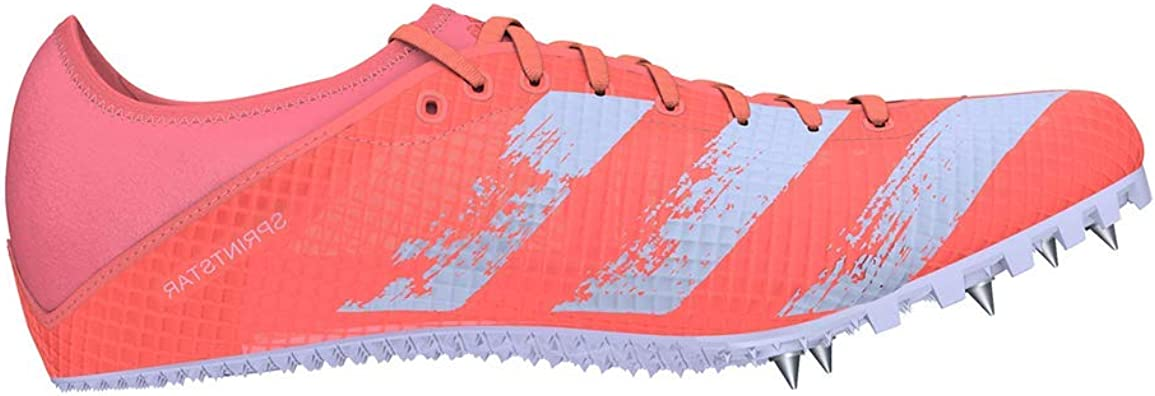 escritura reflujo Significativo  Amazon.com | adidas Women's Sprintstar W Women's Running Shoes with Spikes  | Road Running