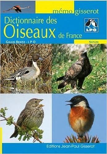 Livres électroniques gratuits Dictionnaire des oiseaux de France