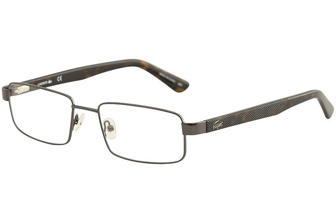 Lacoste L2238 024 56, Monturas de Gafas Unisex-niños, Dark Grey