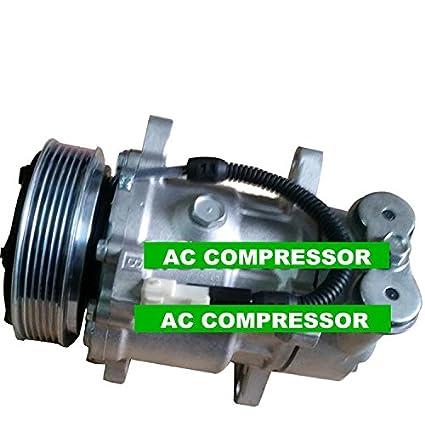GOWE Auto aire acondicionado Compresor para 6 V12 coche Auto aire acondicionado Compresor para coche Peugeot