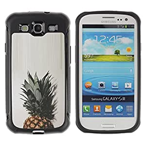 "Hypernova Defender Series TPU protection Cas Case Coque pour Samsung Galaxy S3 III I9300 [Top Verde Marrón Blanco simplista""]"