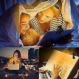 iGoober Amber Book Light, Rechargeable Blue Light