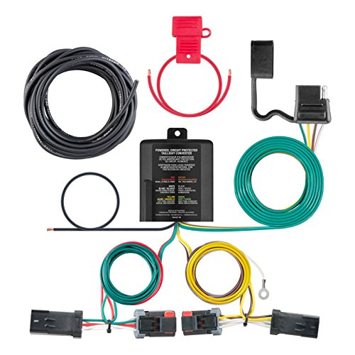 Curt Manufacturing 56344 Custom Vehicle Trailer Wiring Harness for Towing, 1 (Jeep Compass Trailer)