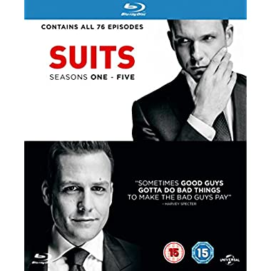Suits - Season 1-5 [Region Free]