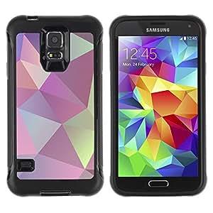 Suave TPU GEL Carcasa Funda Silicona Blando Estuche Caso de protección (para) Samsung Galaxy S5 V / CECELL Phone case / / Texture Shapes Pattern /