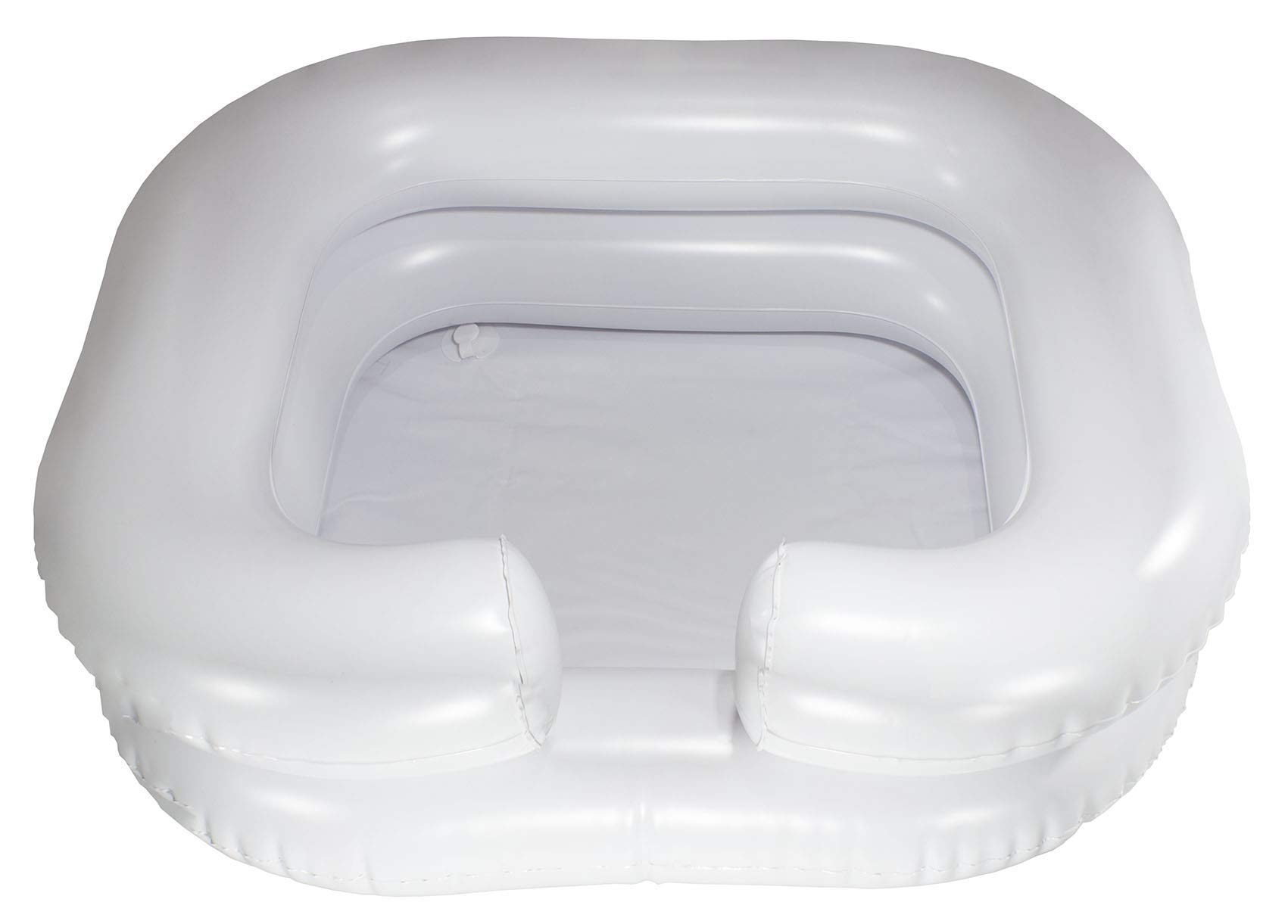 Comfortable Inflatable Shampoo Basin, White - in-Bed Shampooing for Pregnant Woman, Disabled and Loved Ones by Tyrant Essentials