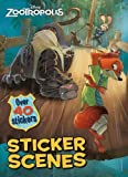 Disney Zootropolis Sticker Scenes: Over 40 Stickers