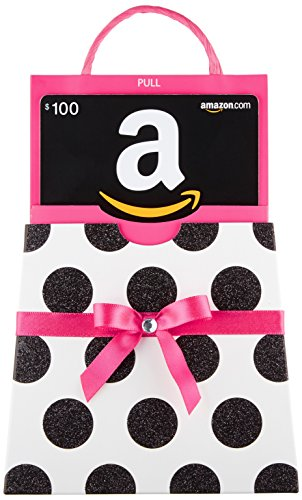 Amazon.com $100 Gift Card in a Polka Dot Reveal