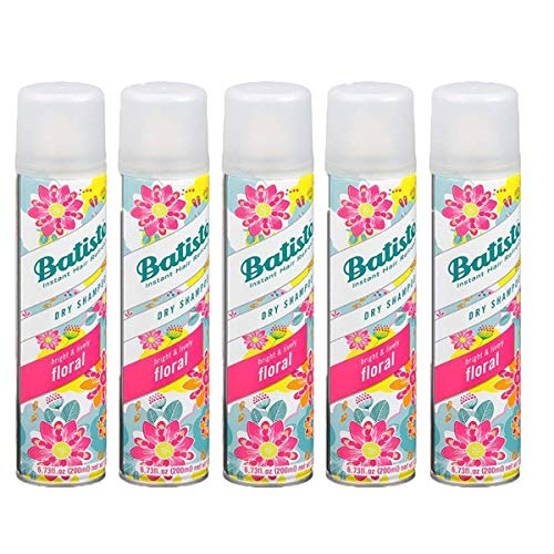 Dry Shampoo, Floral Essences (Pack of 5)