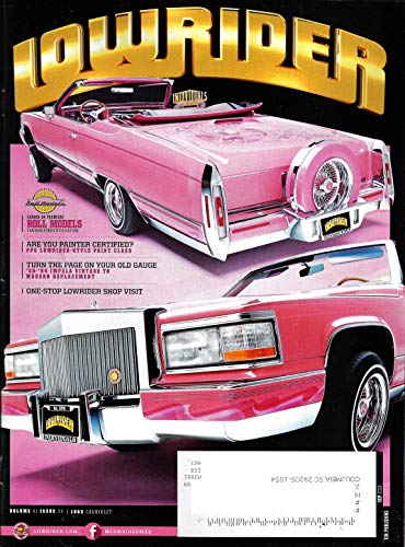 Rider Magazine - LOWRIDER Magazine September 2019 ROLL MODELS, 83 CADILLAC CONVERTIBLE Cover