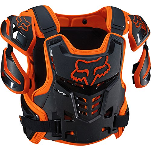 Ce Back Protector (Fox Racing Adult Raptor CE Protector (L/XL,)