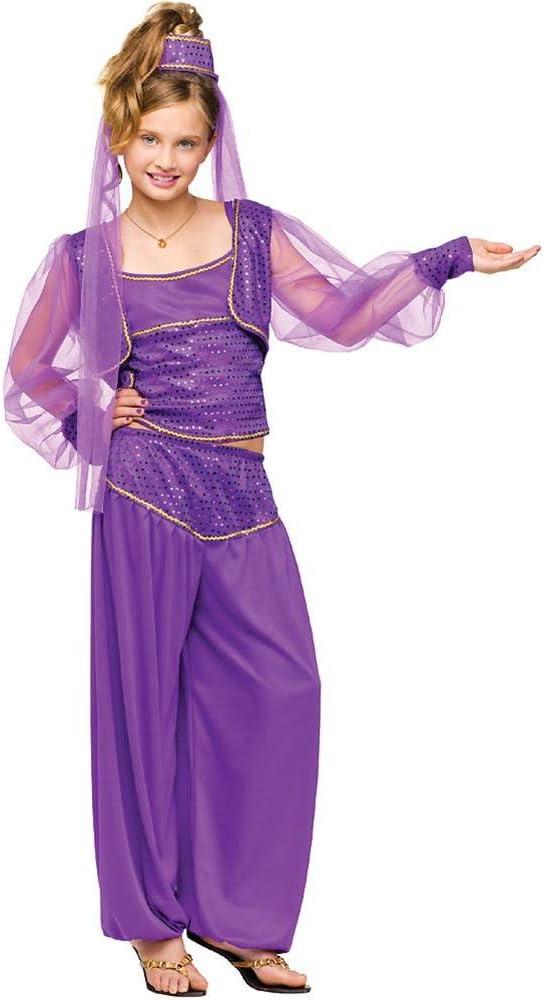 Fun World 121762 - Disfraz de Genio para Mujer, Talla Mediana (8 ...