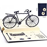 CLSstar 3D Pop Up Card Birthday Gift Greeting Cards Bicycles Series (Bicycles)