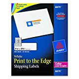 """Avery Laser Labels, Matte, Mailing, 3-3/4"""" x 1-1/4"""", 300 per Pack (6879)"""