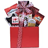GreatArrivals Gift Baskets Valentine's Day Hot and Spicy Gourmet Gift Basket