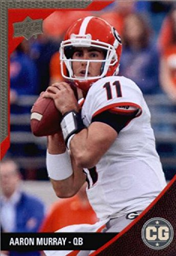 2014 Upper Deck SEC Conference Greats University of Georgia Football Card # 40 Aaron Murray Rookie Card IN...