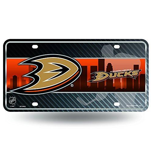 NHL Anaheim Ducks Metal License Plate Tag