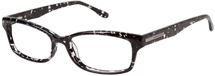 Amazon.com: BCBGMAXAZRIA Eyeglasses NOEMI Black Marble 51MM: Clothing