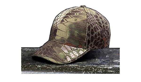 Noga - Gorra con visera estilo militar de camuflaje en bosques y ...