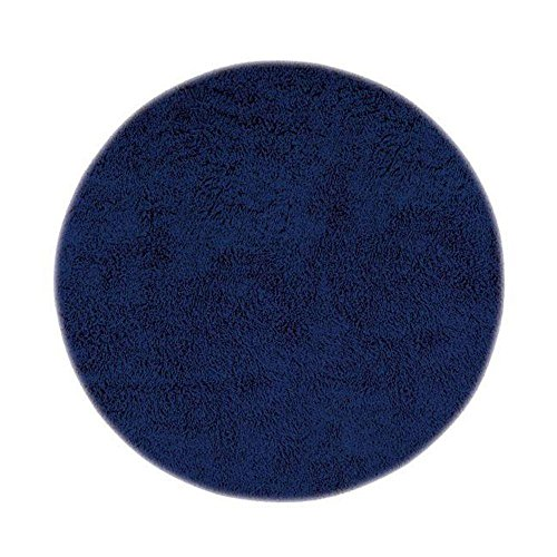 Home Decorators Collection Ultimate Shag Blue 8 ft. x 8 ft. Round Area (Best Home Decorators Collection Area Rugs)