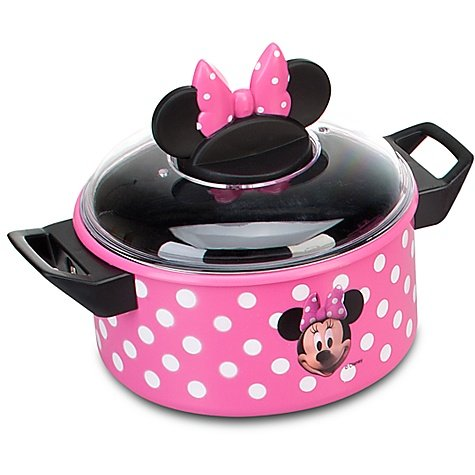 Disney Store Minnie Mouse Kitchen Play Set Pots n Pans Cooking Set ...