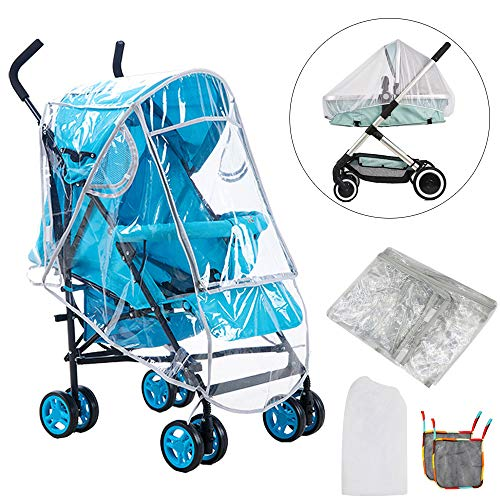 FOGAWA Kit Protector de Lluvia Universal Plastico Burbuja de ...