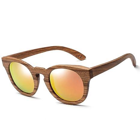MXLTiandao Gafas de Sol Gafas Gafas de Sol de Madera Hechas ...