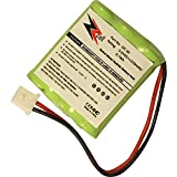 ZZcell () Battery for DOGTRA Dog Collar DC-20, 175NCP, 180NCP, 200NCP, 202NCP Gold - 2, 210NCP, 22000NCP, Receiver 175NCP, 200NCP, 202NCP, 280NCP, 282NCP, 300M, 302M, 7000M, 7002M