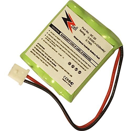 ZZcell () Battery for DOGTRA Dog Collar DC-20, 175NCP, 180NCP, 200NCP, 202NCP Gold – 2, 210NCP, 22000NCP, Receiver 175NCP, 200NCP, 202NCP, 280NCP, 282NCP, 300M, 302M, 7000M, 7002M Review