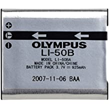 Olympus LI-50B Rechargeable Li-Ion Battery for Select Olympus Digital Cameras - Retail Packaging