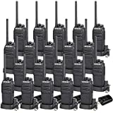Retevis H-777S Walkie Talkies Rechargeable Scrambler Security 2 Way Radios Long Range with Monitor Scan Function Two Way Radio with Charger (20 Pack)