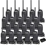Retevis H-777S 2 Way Radios Walkie Talkies Rechargeable Voice Encrypt Security Monitor Scan Function Two Way Radio Long Range (20 Pack)